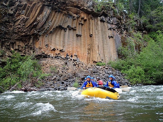 Giani guides a group down the Klickitat on May 18th.