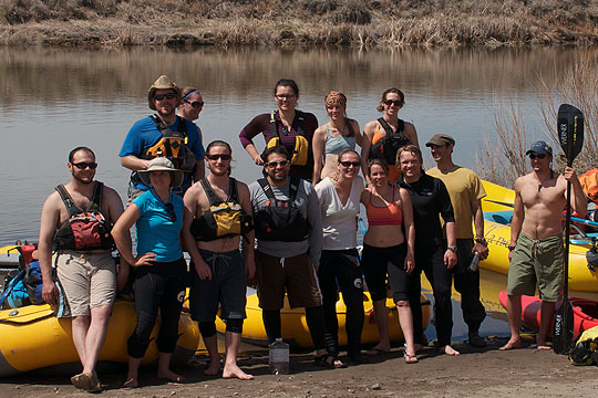 Wet Planet Owyhee River Staff Trip