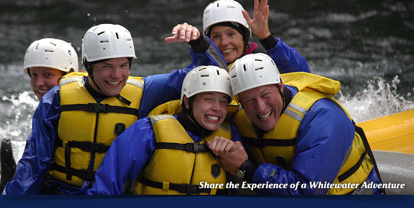 whitewater rafting oregon