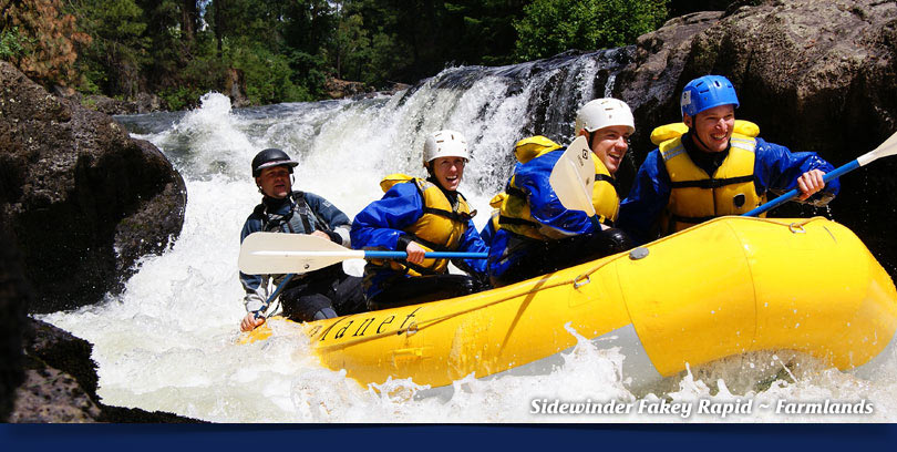 farmlands whitewater rafting