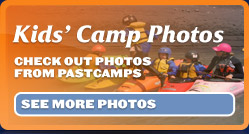 kids camp, kayak course