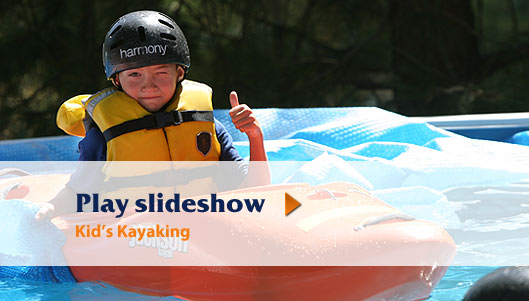 Kid's Kayaking Photos