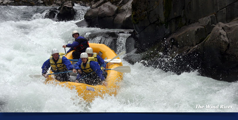 whitewater rafting wind river