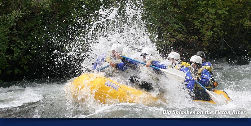 Tieton white water rafting