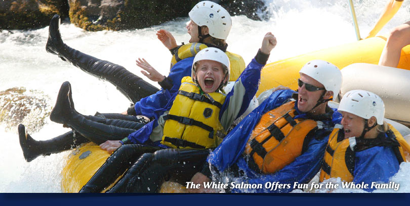 whitewater rafting white salmon