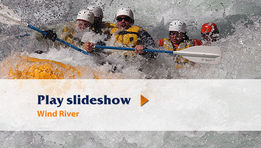 Wind River Rafting Slideshow