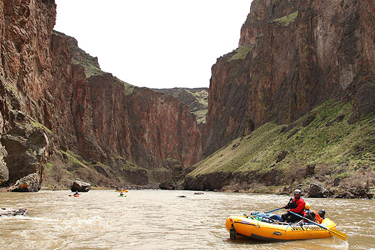 Rafting the Owyhee River with Wet Planet